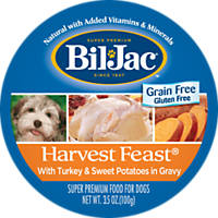 Bil-Jac Harvest Feast Turkey & Sweet Potatoes Wet Adult Dog Food