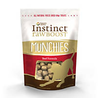Instinct Raw Boost Munchies Treats for Dogs, Beef