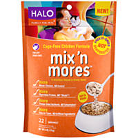 HALO Purely For Pets Freeze-Dried Chicken Mix 'n Mores Cat Food Toppers