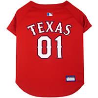 Pets First Texas Rangers MLB Mesh Jersey