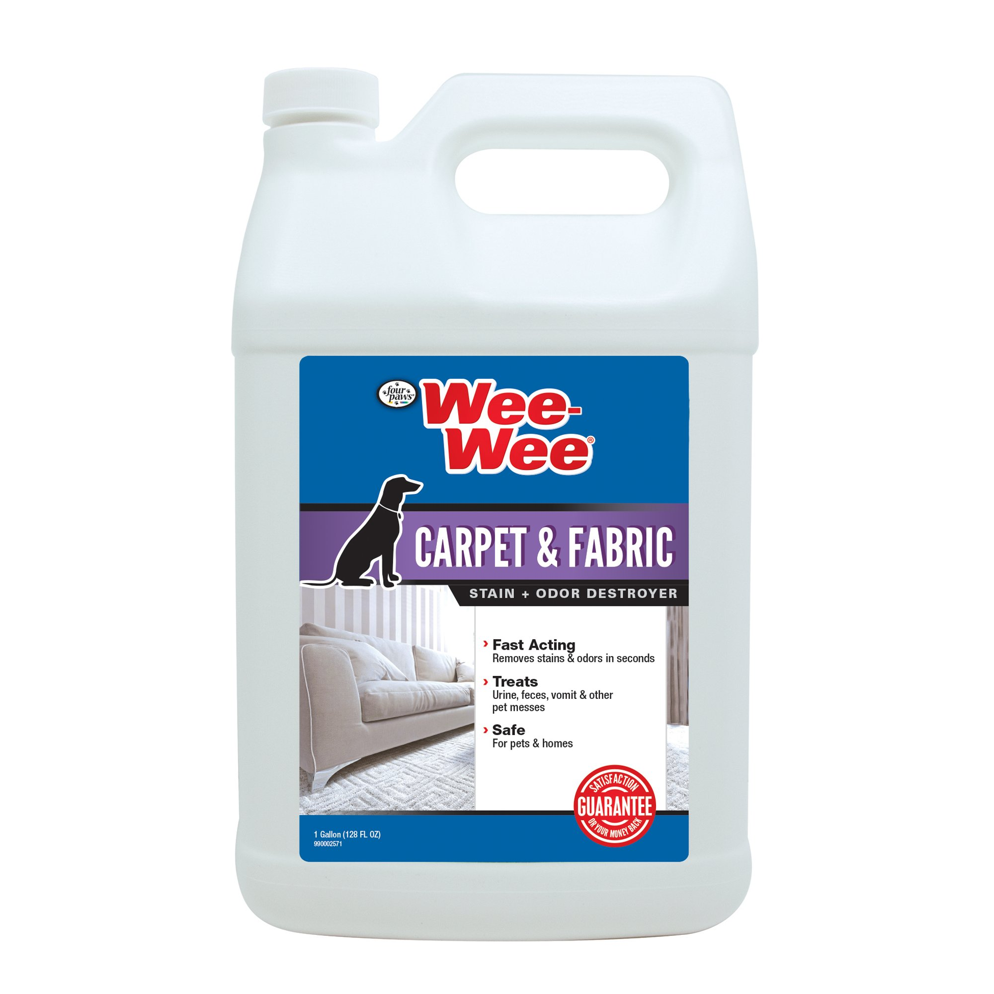 Wee-Wee Carpet & Fabric Cleaner Stain & Odor Remover