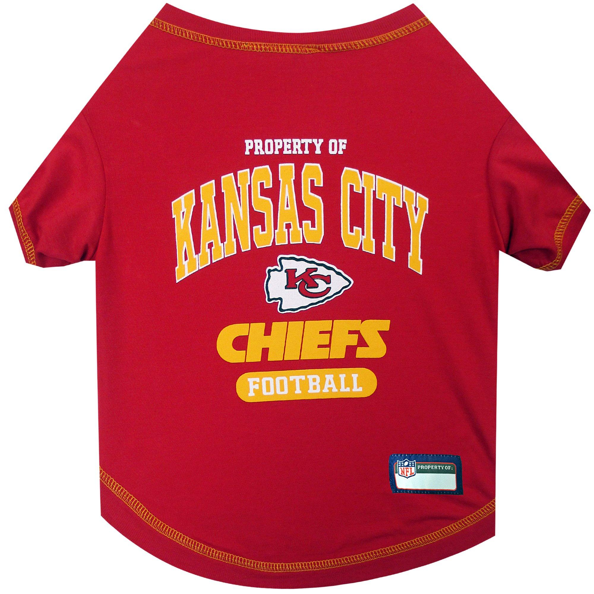 Pets first kansas city chiefs t shirt petco store for Kansas city chiefs tee shirts