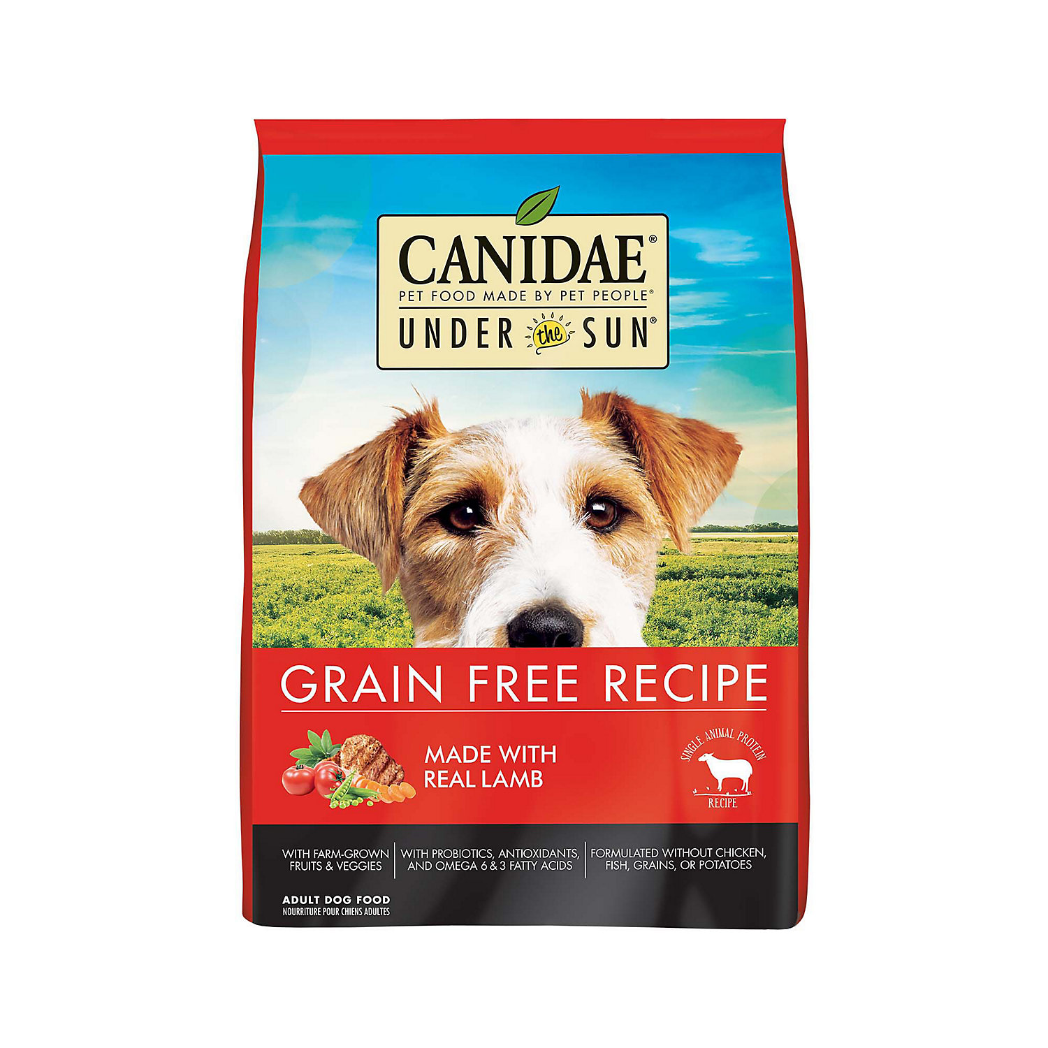 Canidae Under The Sun Grain Free Adult Lamb Dog Food