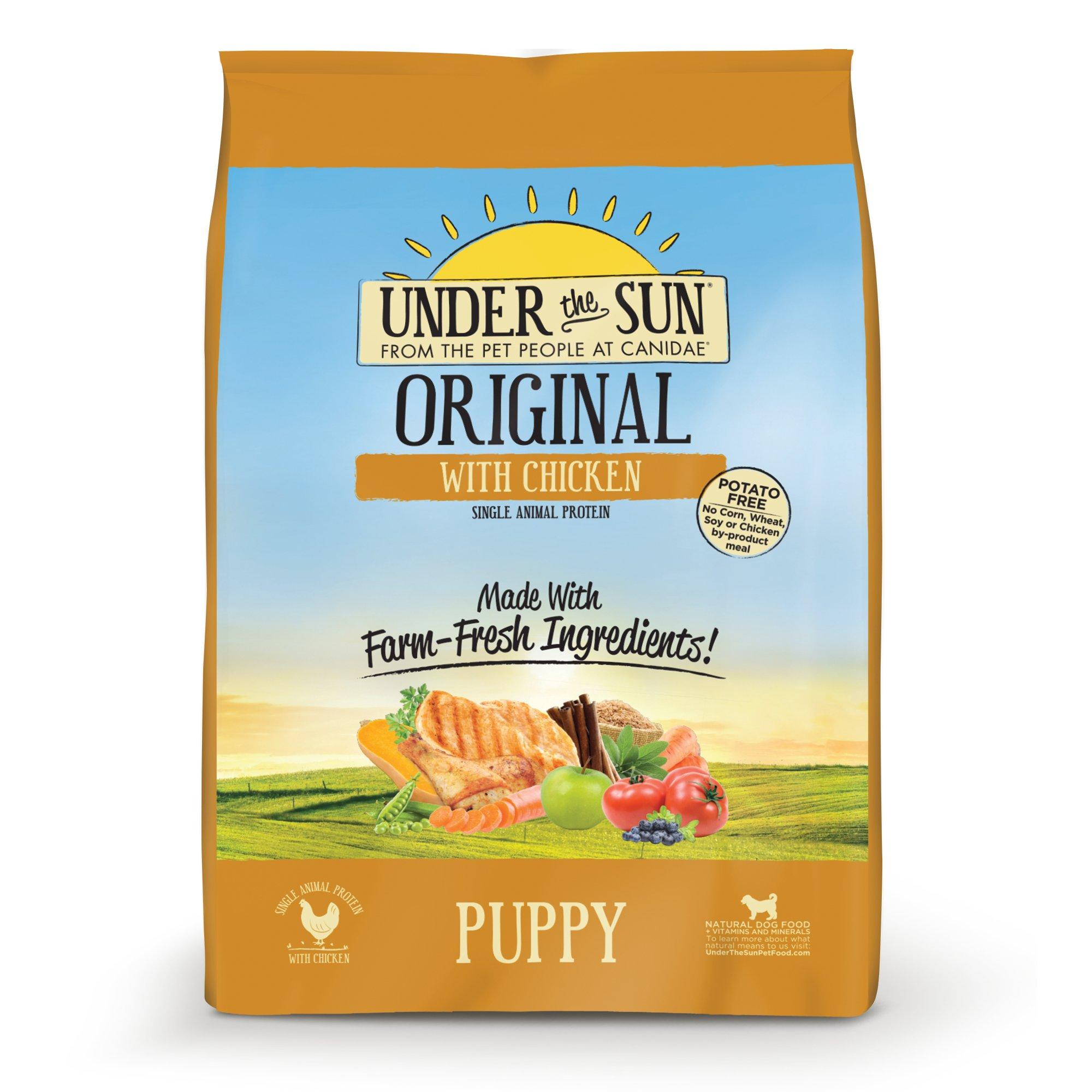 Under The Sun Original Chicken Puppy Food