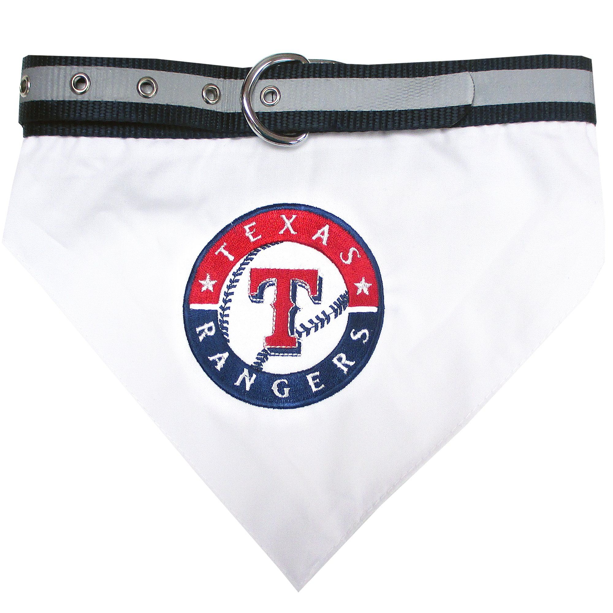 Pets First Texas Rangers Collar Bandana