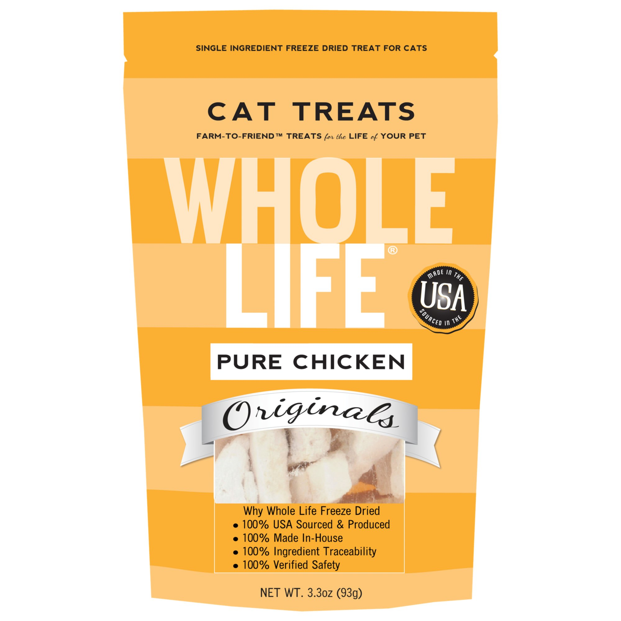 Whole Life Pure Chicken Freeze-Dried Cat Treats