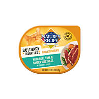 Nature's Recipe Culinary Favorites Grilled Tuna & Garden Vegetables in Savory Sauce Cat Food