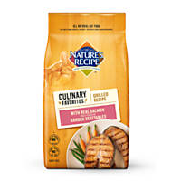 Nature's Recipe Culinary Favorites Grilled Salmon & Garden Vegetables Dry Cat Food