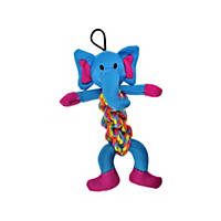 Bark A Boo Rope Twister Elephant