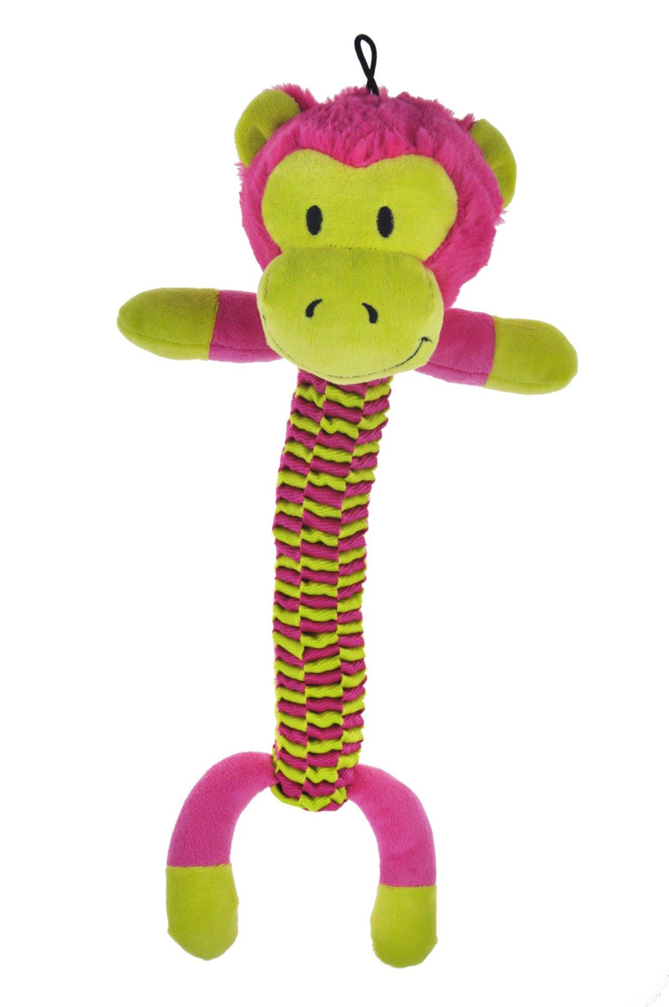 Bark A Boo Woven Body Twister Monkey