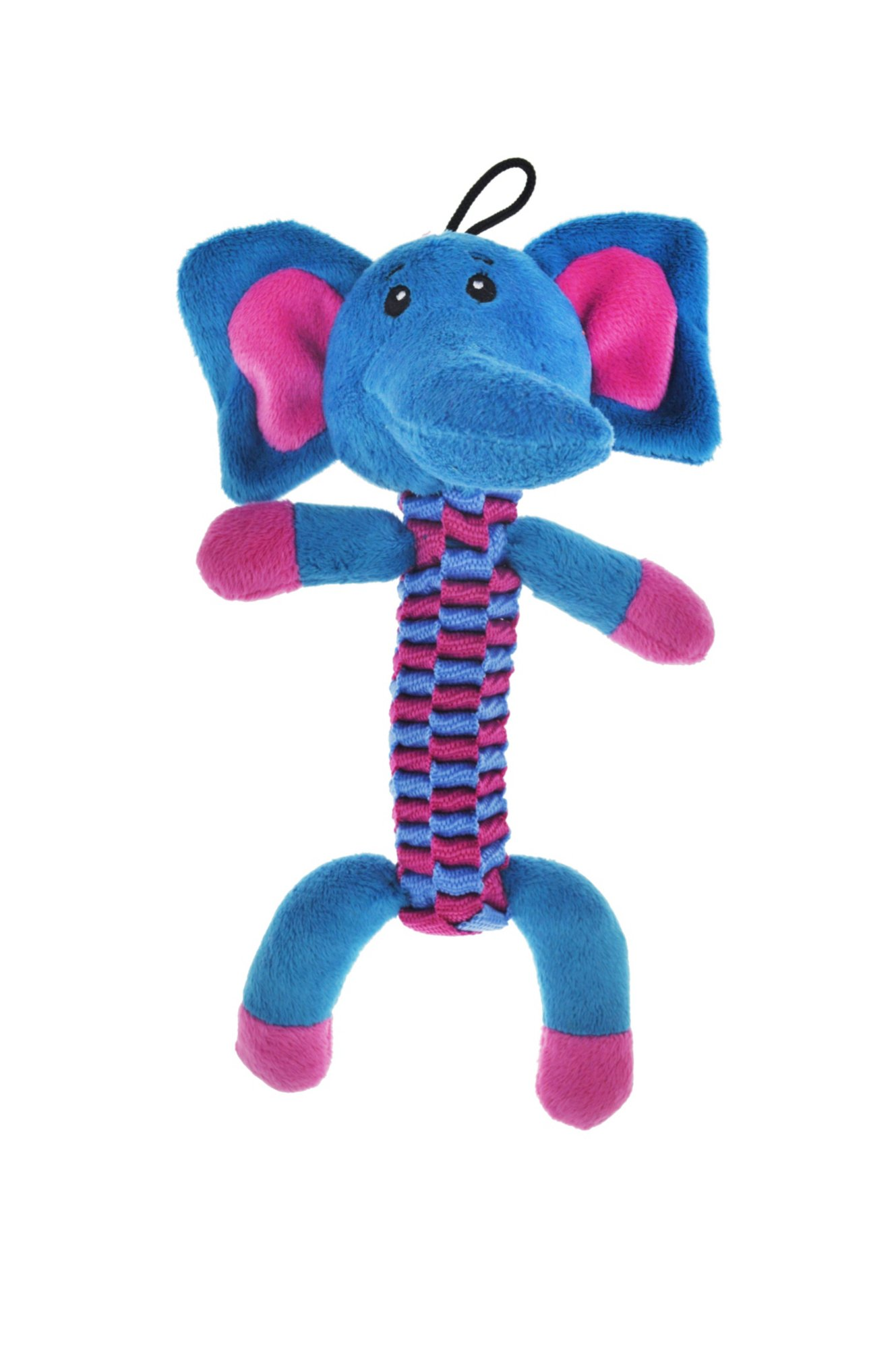 Bark A Boo Woven Body Twister Elephant