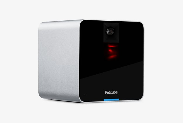 Petcube Interactive WiFi Pet Camera - Matte Silver