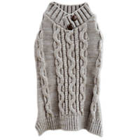 Bond & Co. Grey Cable Knit Sweater