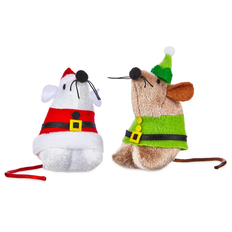 Time for Joy Santa & Elf Catnip Cat Toy