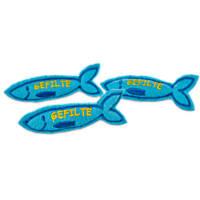 Time for Joy Hanukkah Gefilte Fish Cat Toy, 3-pack