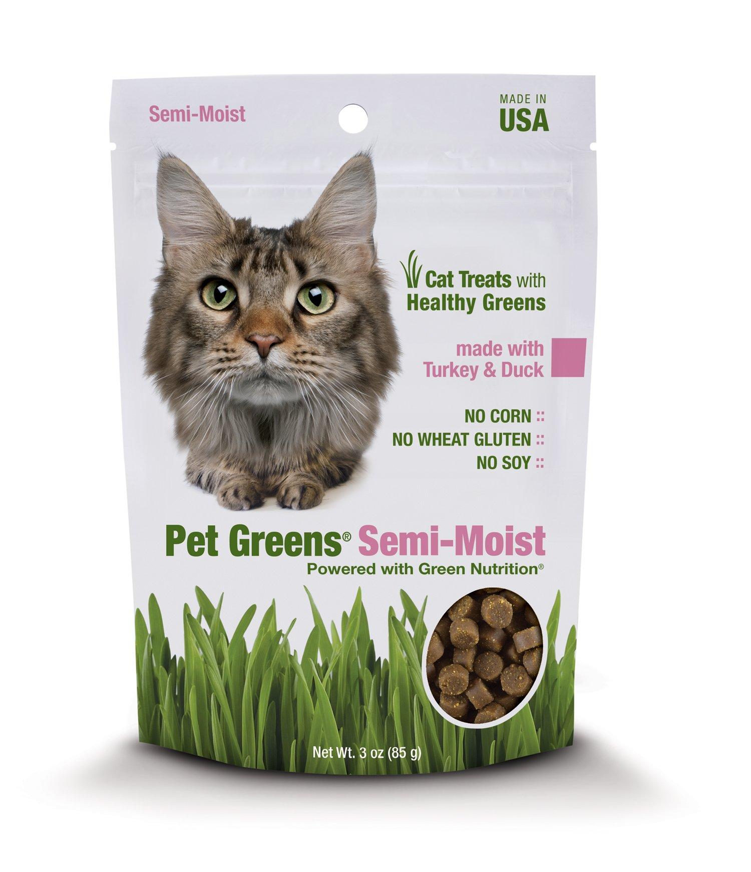 Pet Greens Turkey & Duck Semi Moist Cat Treats