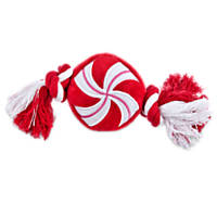 Time for Joy Peppermint Rope Dog Toy