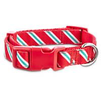 Time For Joy Candy Cane Adjustable Dog Collar