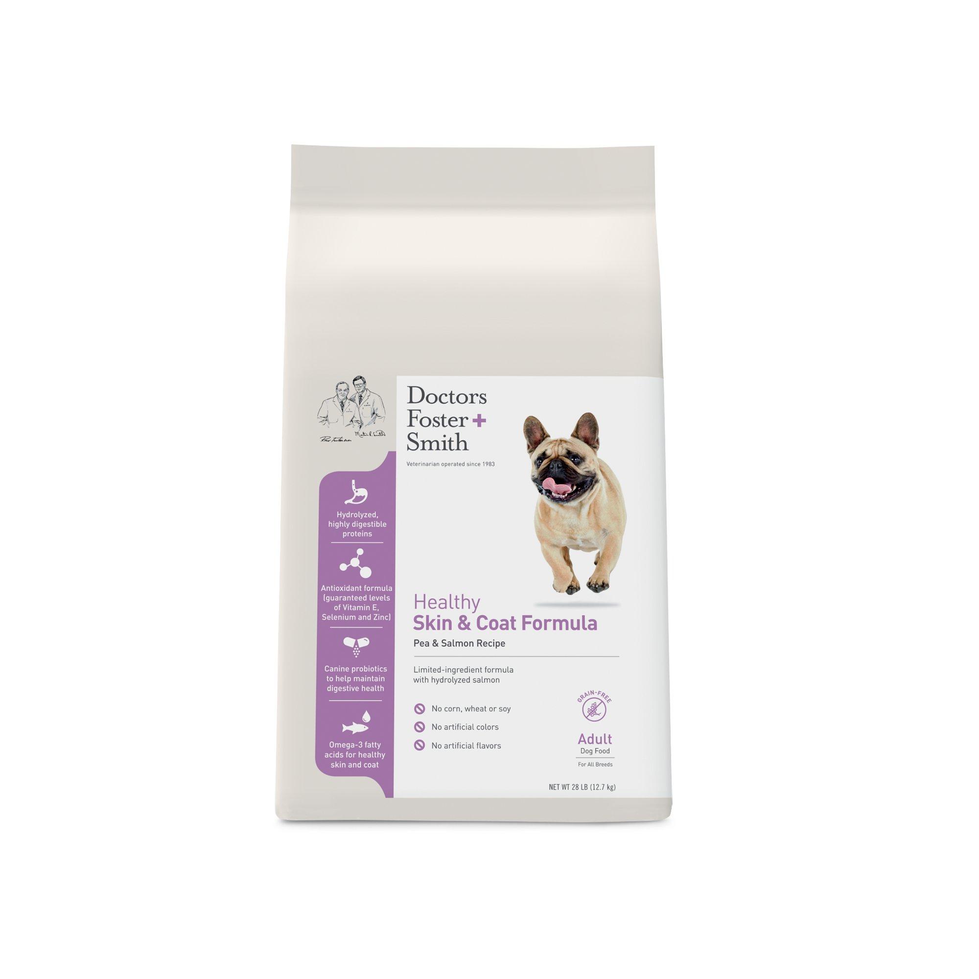 Doctors Foster + Smith Grain Free Healthy Skin & Coat Pea & Salmon Adult Dog Food