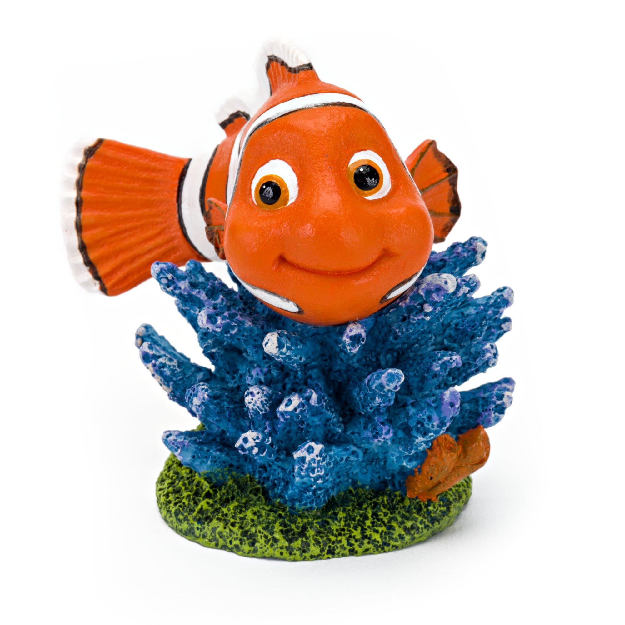 Penn Plax Disney's Finding Dory Nemo on Coral