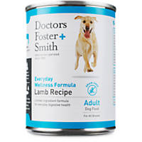 Doctors Foster + Smith Grain Free Everyday Wellness Lamb Adult Canned Dog Food