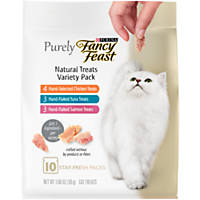 Purina Fancy Feast Purely Natural Variety Pack Cat Treats