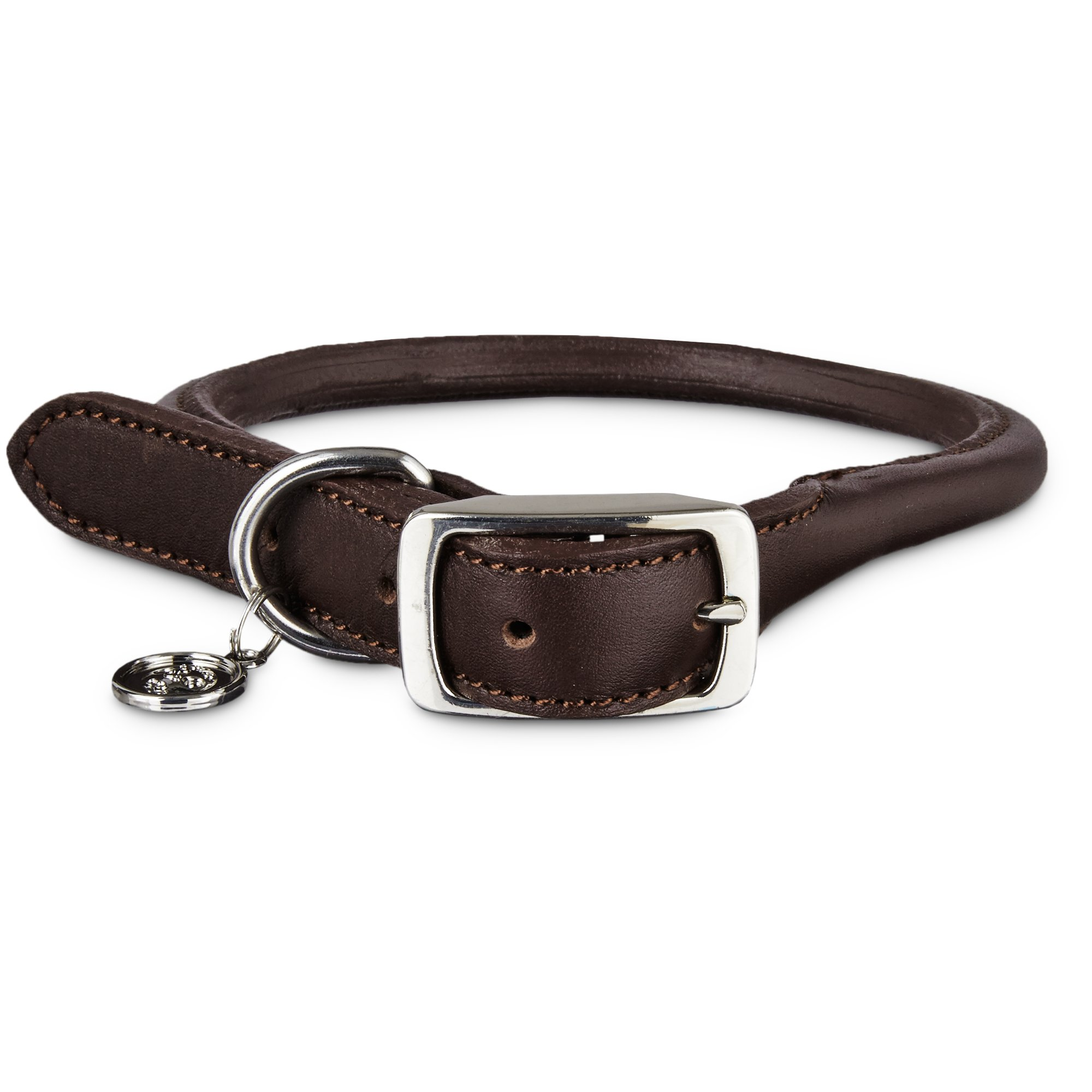 Rolled Leather Dog Collar Petco