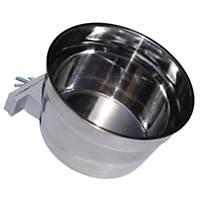 Lixit Stainless Steel Crock, Jumbo