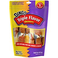 Dingo Triple Flavor Pigs 'n a Blanket Dog Treats