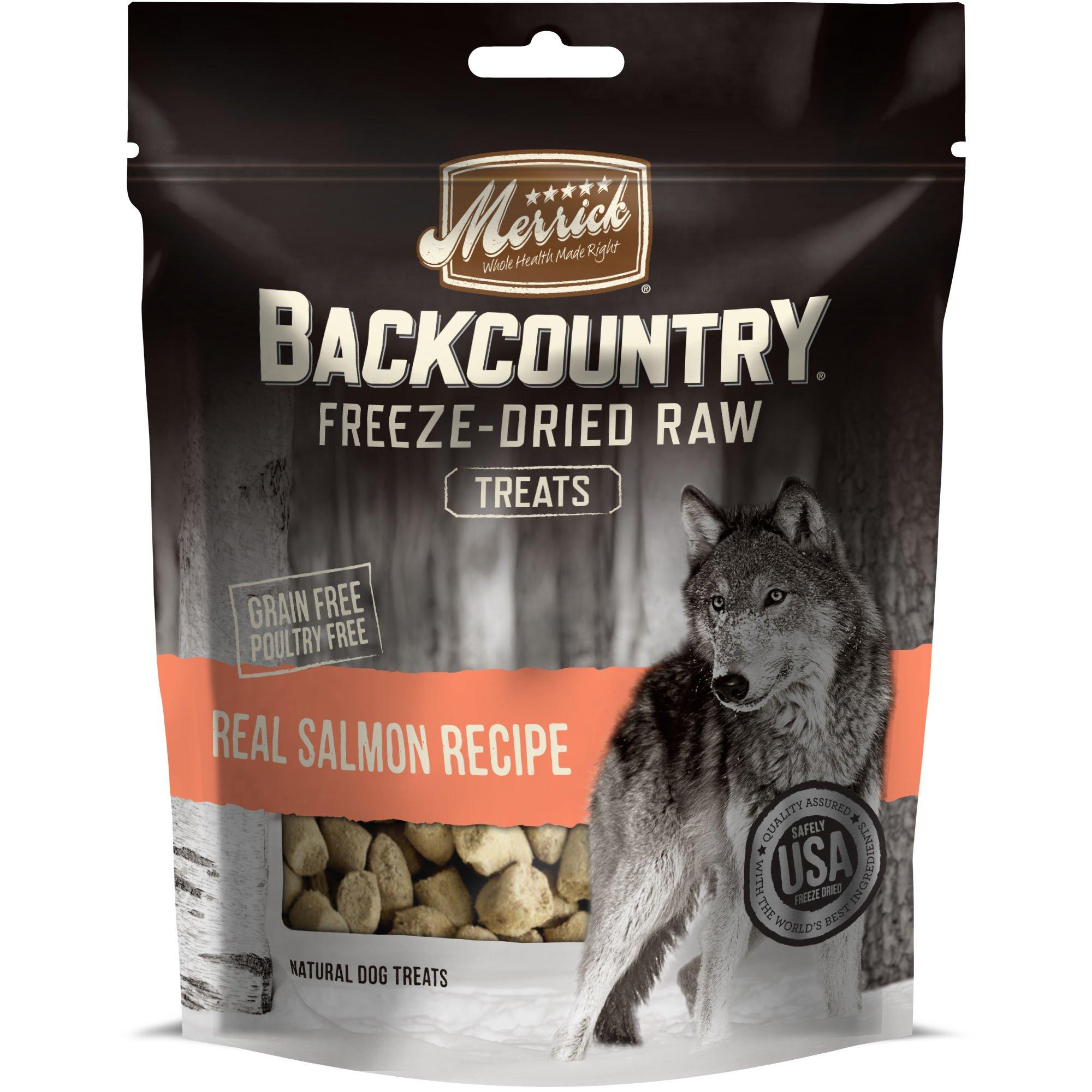 Merrick Backcountry Freeze Dried Raw Salmon Dog Treats