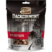 Merrick Backcountry Freeze Dried Raw Beef Dog Treats