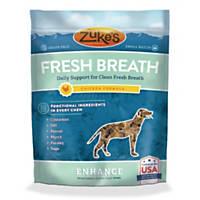 Zuke's Fresh Breath Chicken Formula Dog Treats