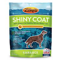 Zuke's Shiny Coat Peanut Butter Formula Dog Treats