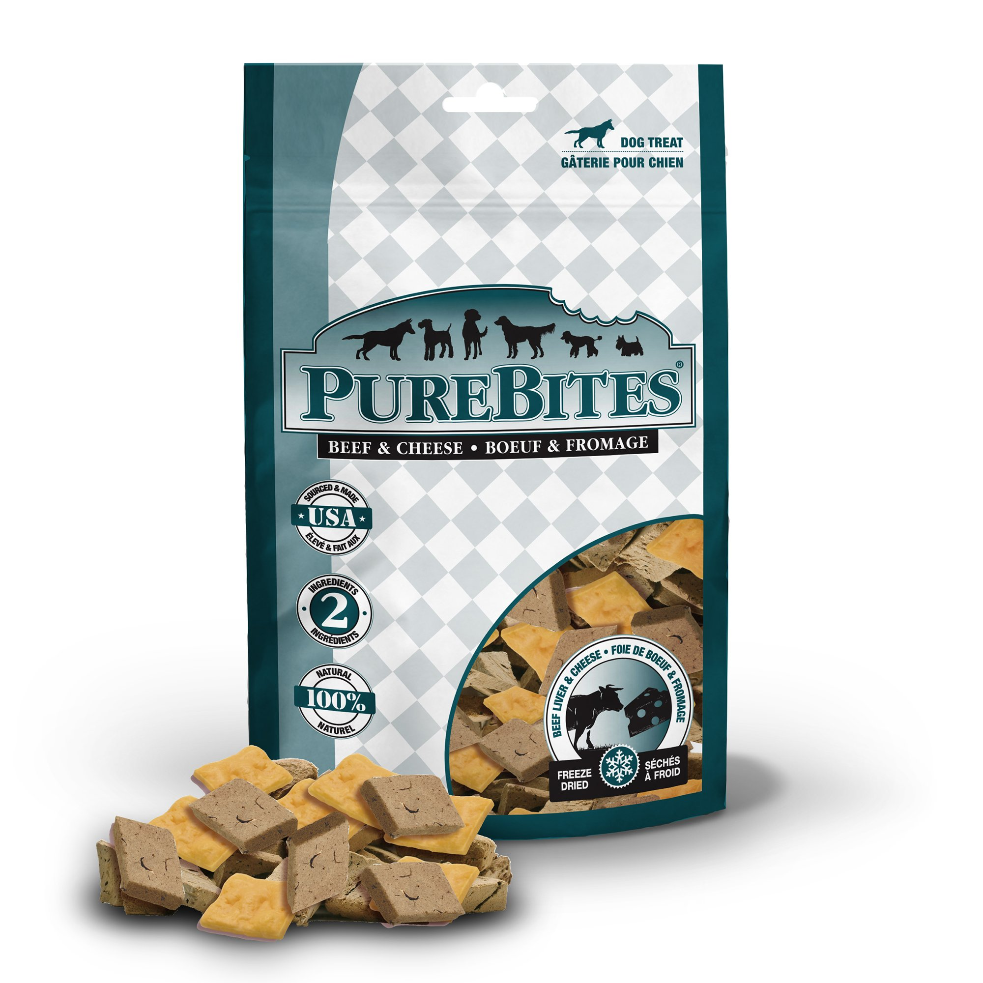 PureBites Beef & Cheese Mid Size Dog Treats