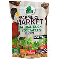 Plato Farmer's Market Duck & Vegetable Recipe Dog Treats