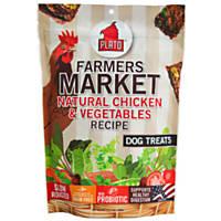 Plato Famer's Market Chicken & Vegetable Recipe Dog Treats