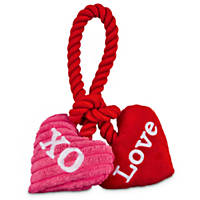 Love My Pup XO Rope Knot Toy