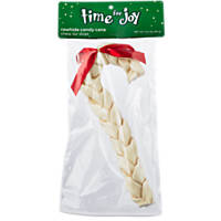 Time for Joy Small Candy Cane Rawhide