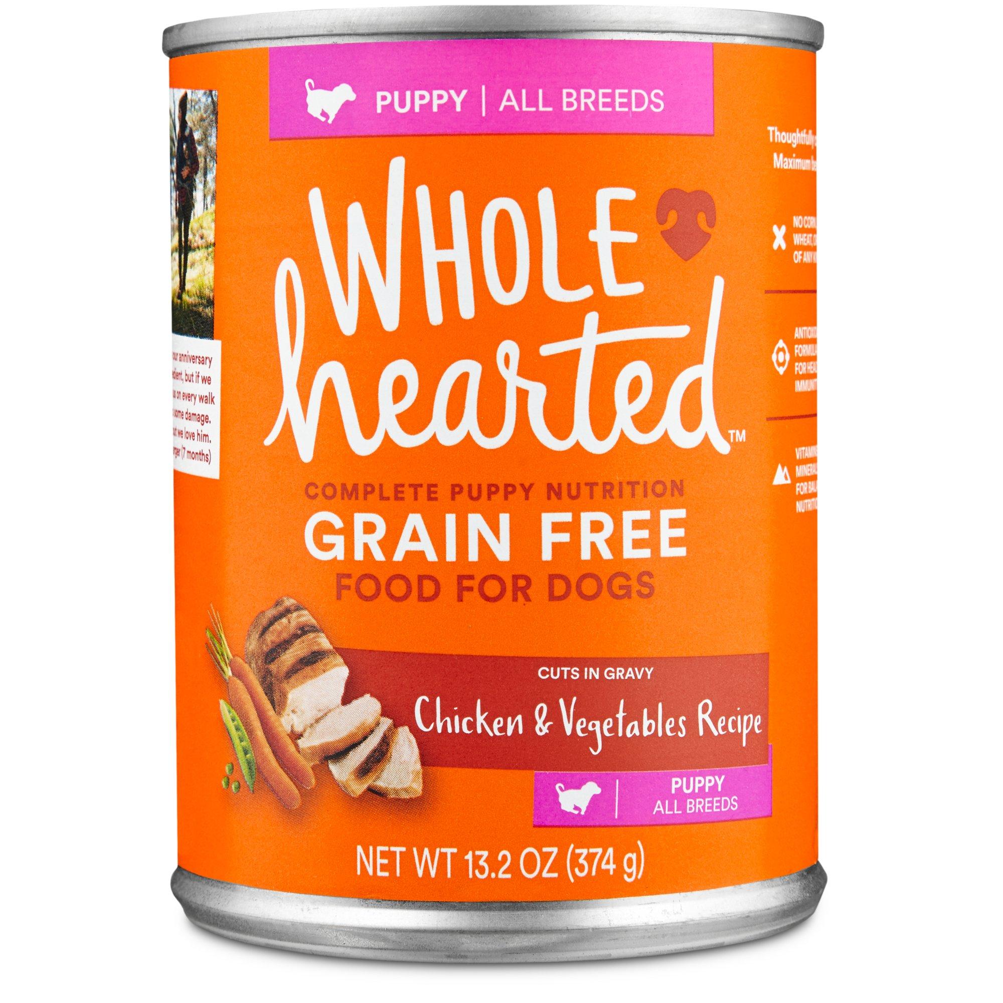 Petco Canned Grain Free Dog Food
