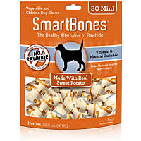 SmartBones Mini Sweet Potato Dog Chews