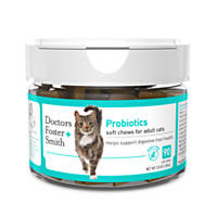 Doctors Foster + Smith Probiotic Soft Chews for Cats