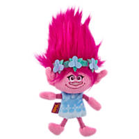 Trolls Poppy Flattie Small Dog Toy