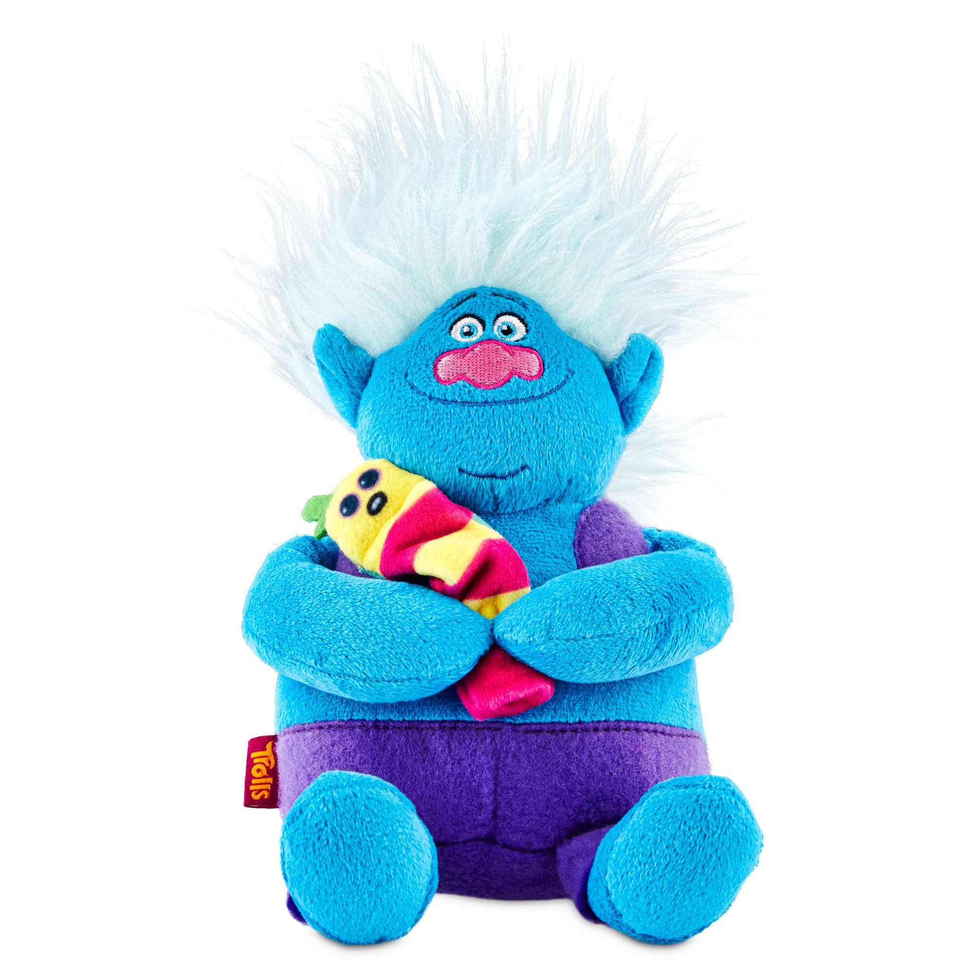 Trolls Biggie and Mr Dinkles Plush Dog Toy