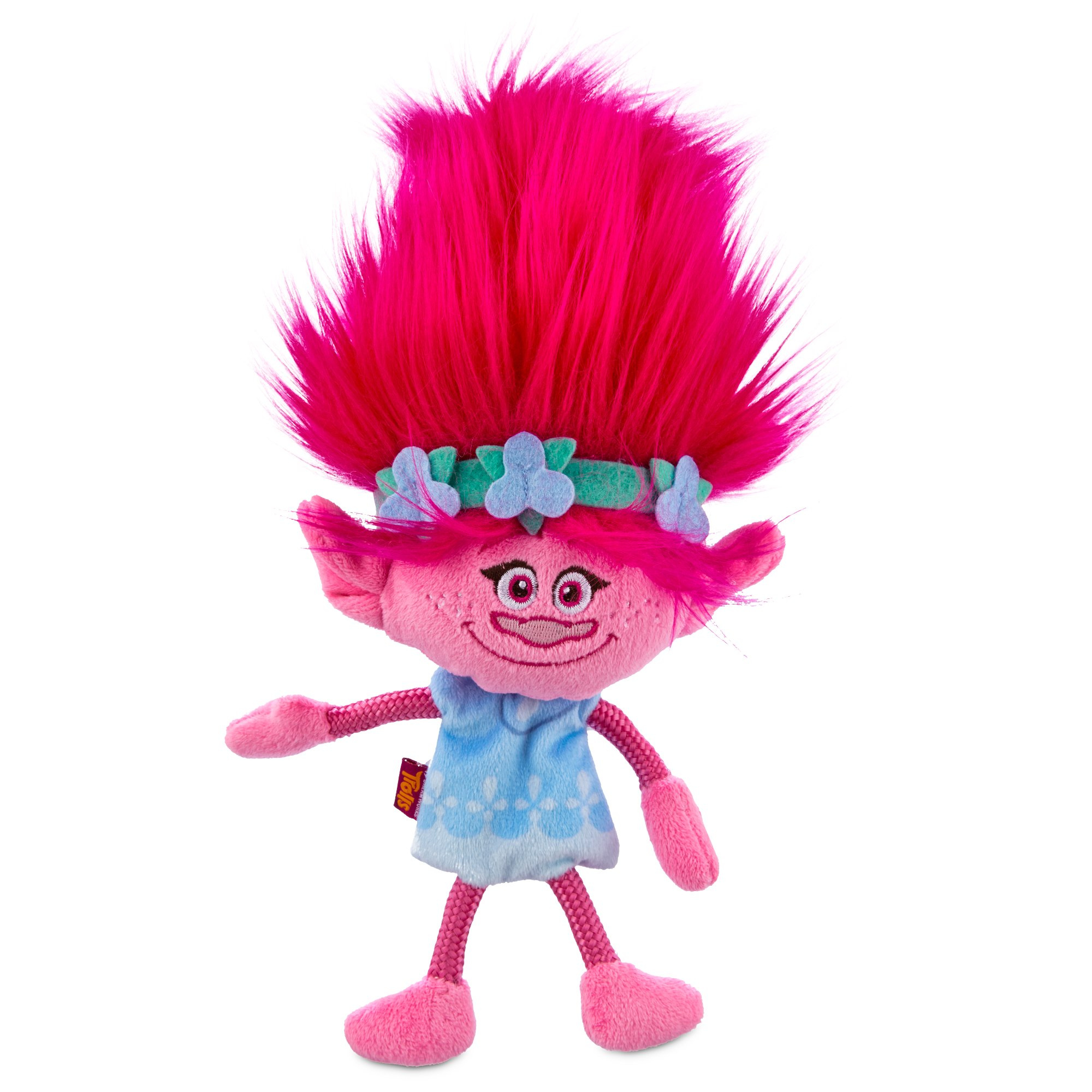 Trolls Poppy Plush Dog Toy