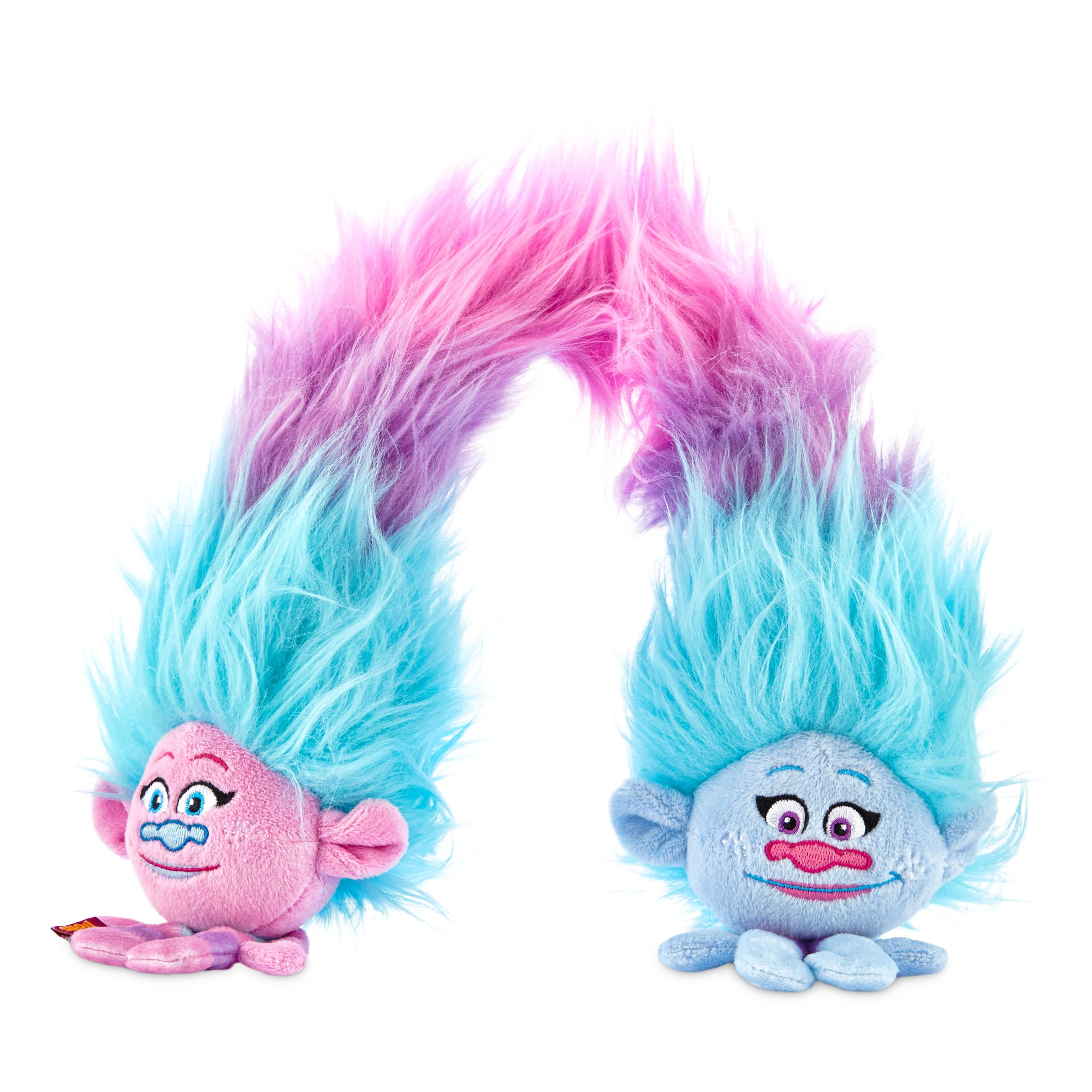 Trolls Satin and Chenille Plush Large Dog Toy