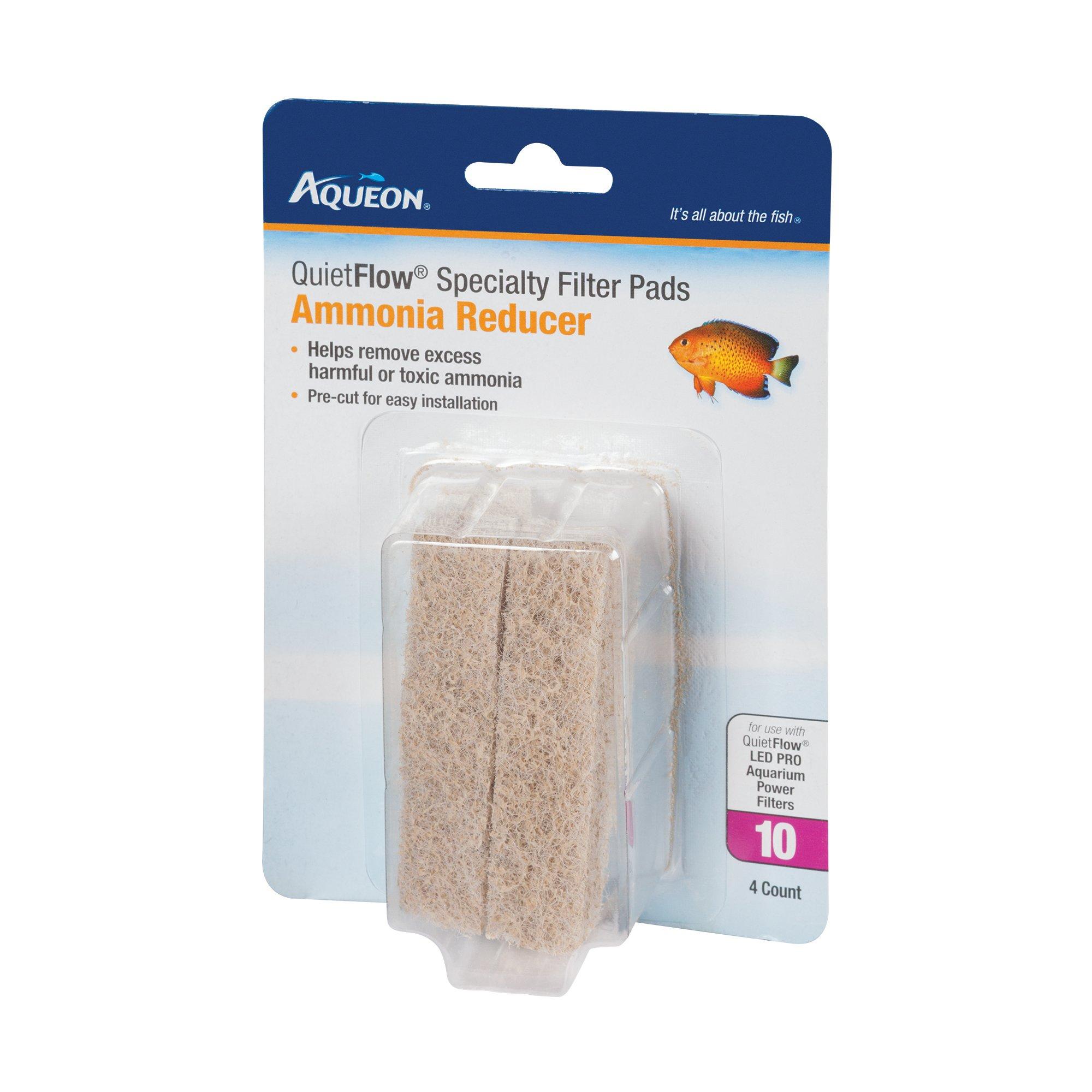 Aqueon QuietFlow Ammonia Cartridge with Bio-Media Grid 10