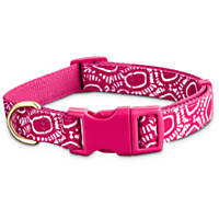 Pets on Safar Adjustable Collar in Pink