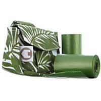 So Phresh Green Safari Fabric Bag Dispensers and Refill Roll