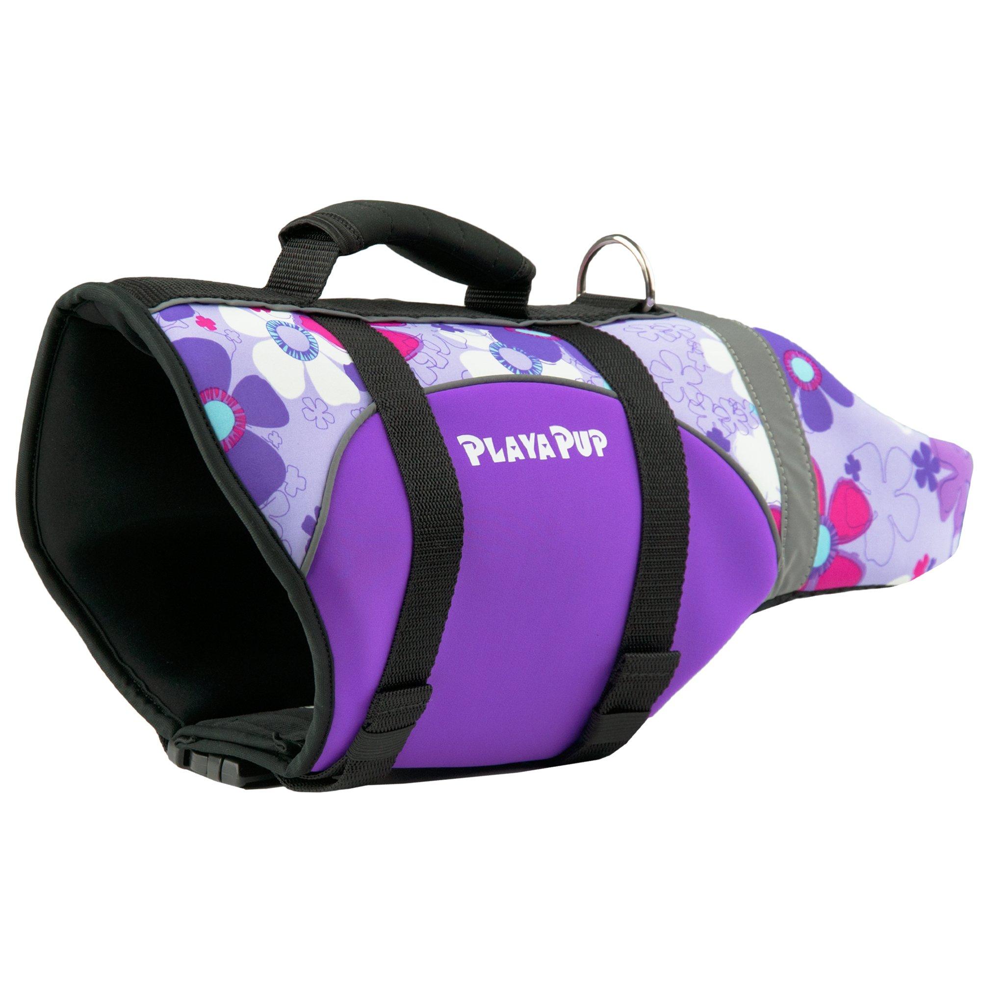 Playa Pup Orchid Dog Flotation Vest