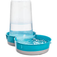 You & Me Gravity Feeder or Waterer for Pets in Blue